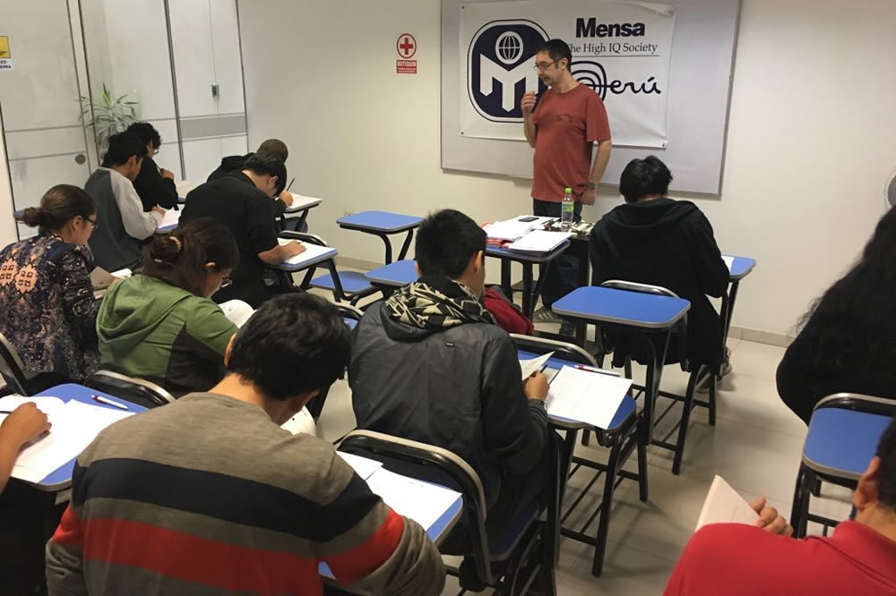 Test Mensa Perú Lima